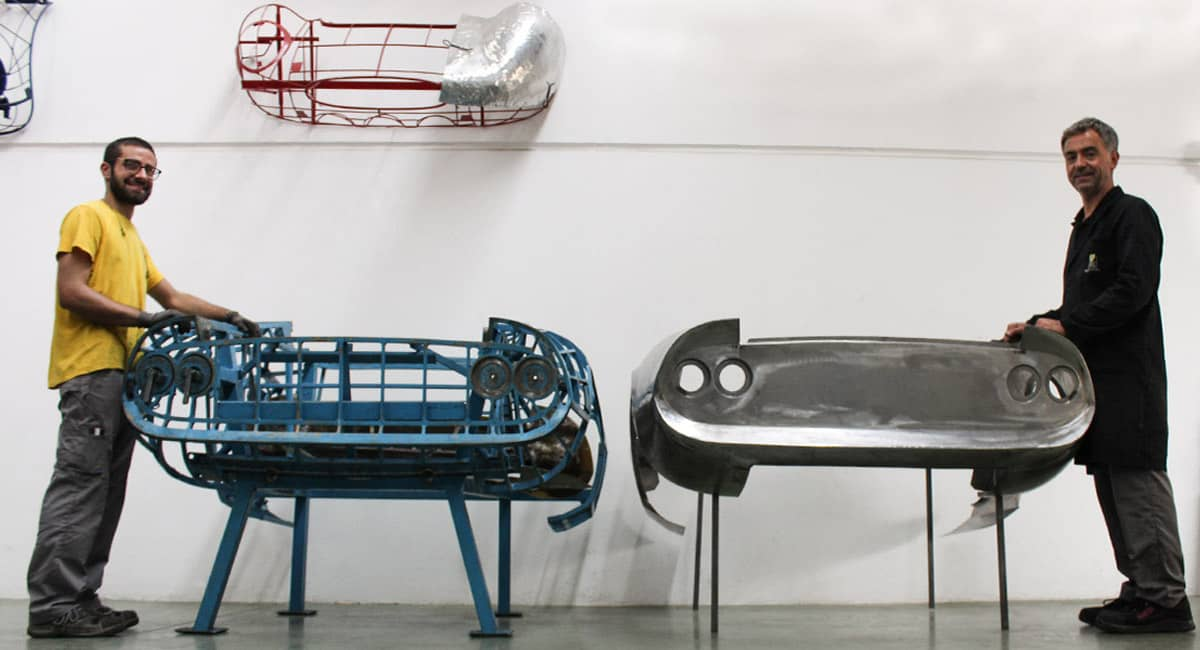 Ricambi complessi: il caso di una porzione di carrozzeria Ferrari Dino 246 GT