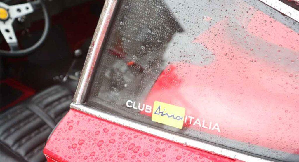 Egidio Brandoli is guest of honour of Club Dino Italia