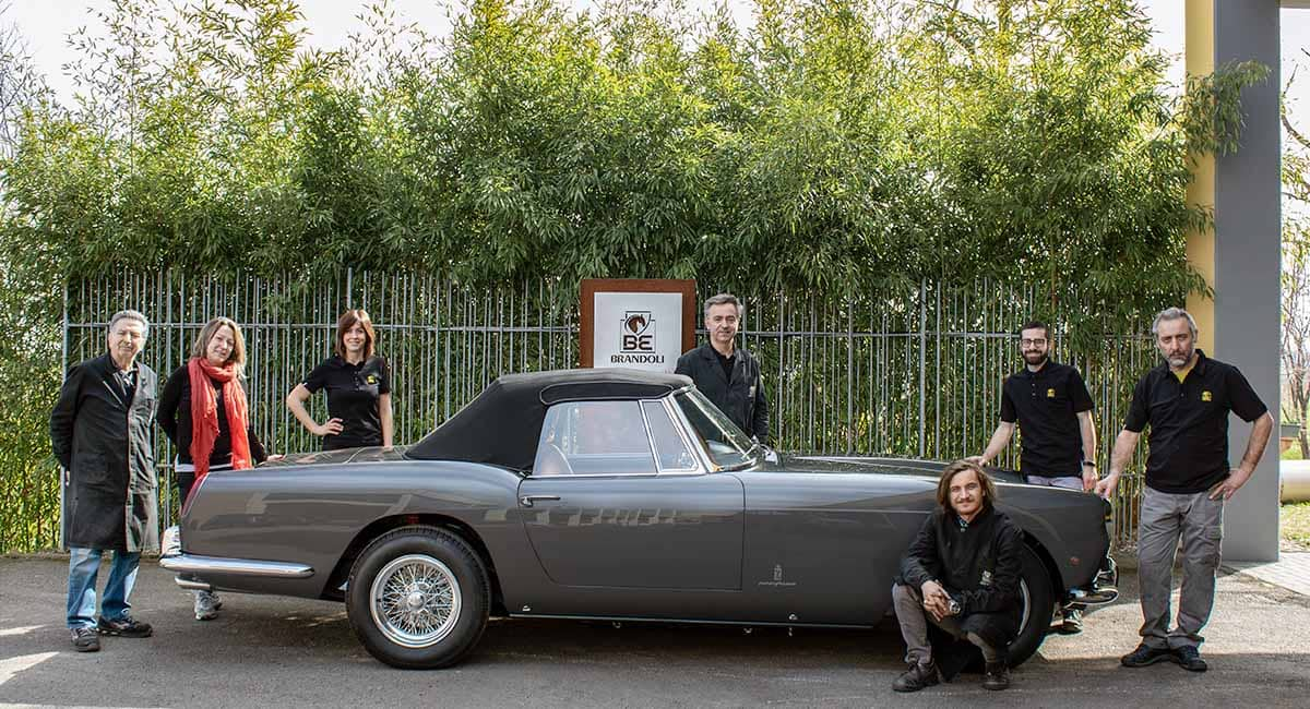 Il restauro della Ferrari 250 GT Pininfarina serie 2 Cabriolet