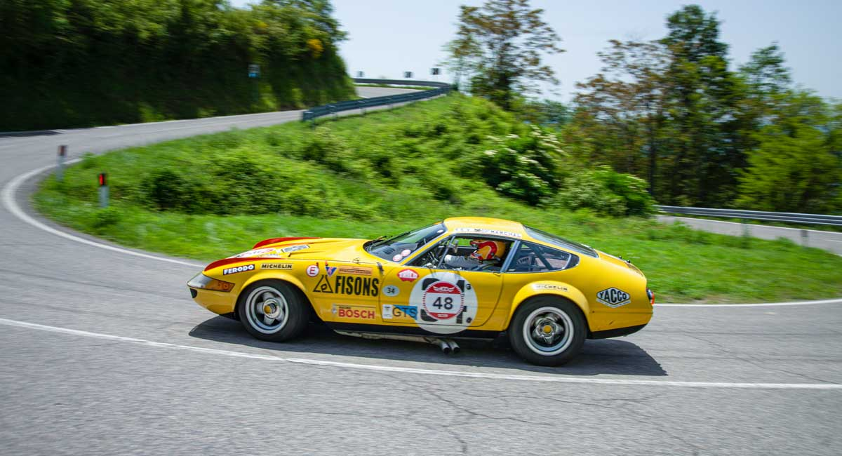 Modena Cento Ore: il Premio Speciale Brandoli alla Ferrari 365 GTB/4 Daytona Competizione, #16425