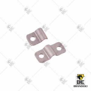 Torsion bar retaining plate for hood for Ferrari 330 GTS and Ferrari 275 GTS